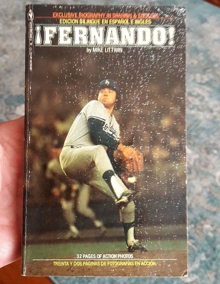 FERNANDO! (in English & Spanish) by Mike Littwin Dodgers 1981 1st Edition