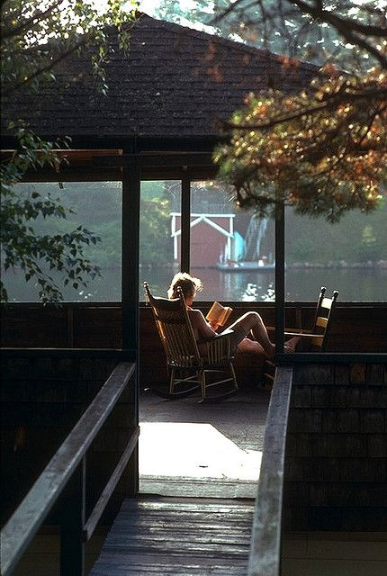 .: Screens Porches, Summer Day, Dreams, Alone Time, Peace, The Lakes House, Good Book, Lakes Living, Reading Spots