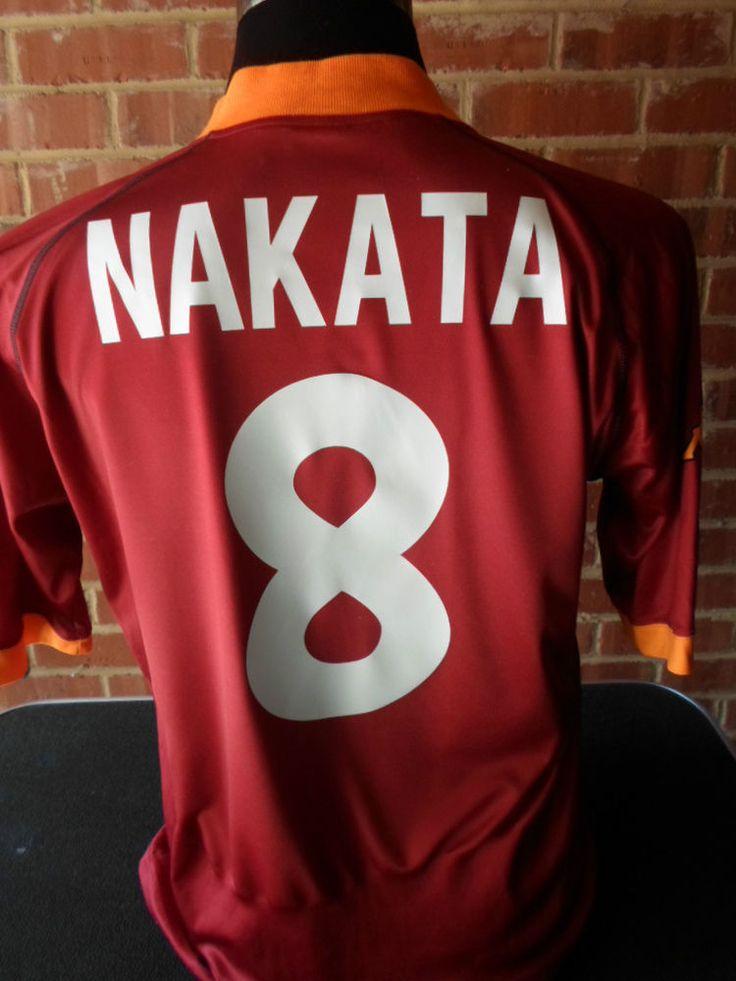 2001 AS Roma Nakata 8 European Football Shirt adult XXL (22385)