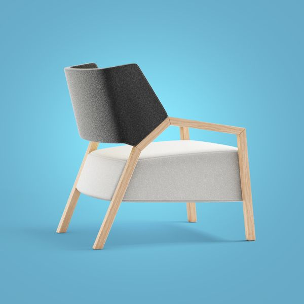 2PiN armchairs by Redo Design Studio , via Behance