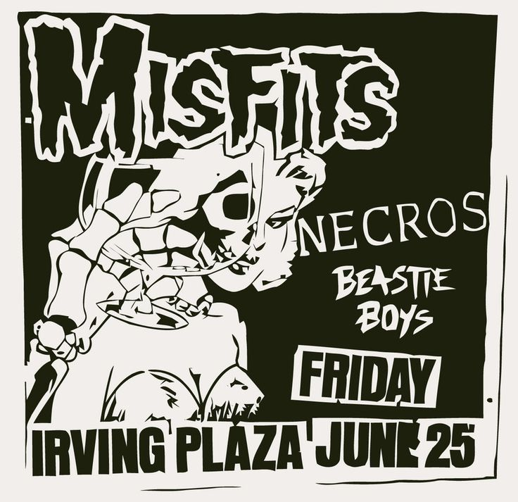 53 best pushead images on pinterest skulls metallica and death punk rock show flyer for the misfits the necros and the beastie boys fandeluxe Epub
