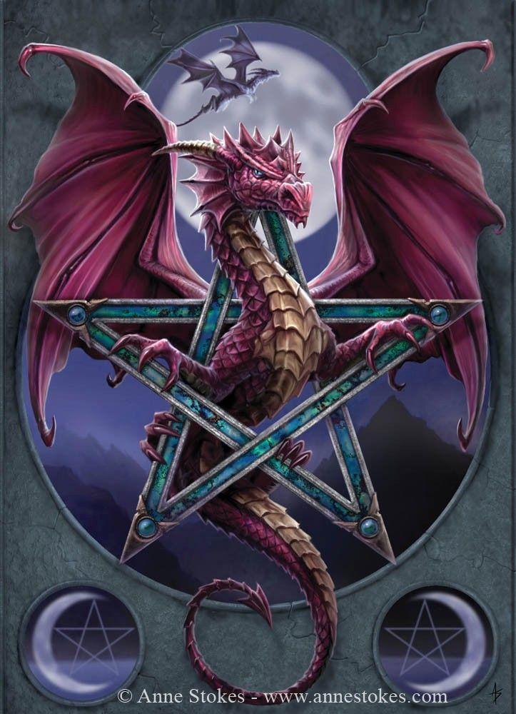 Dragons - Anne Stokes - Lunar Magic