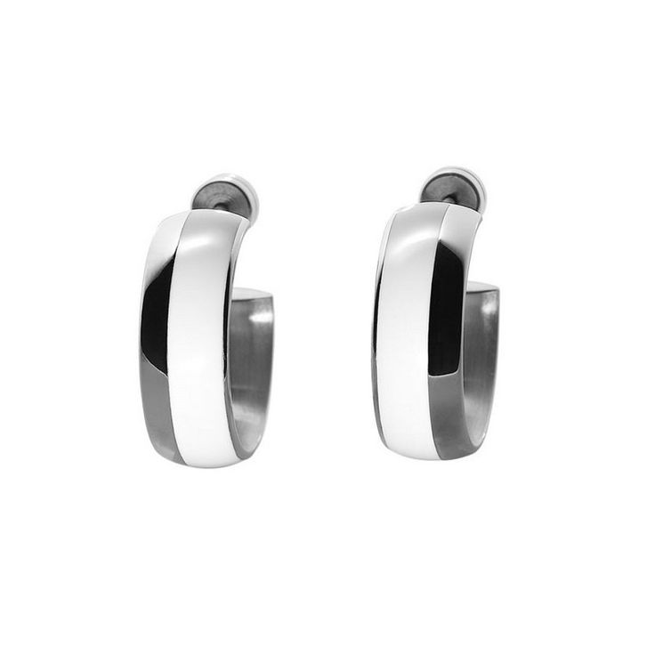 Enter XenOnline site and buy your XEN Ceramic stainless steel earrings. Discover the high quality stainless steel jewelry and wedding bands collections by Xen.