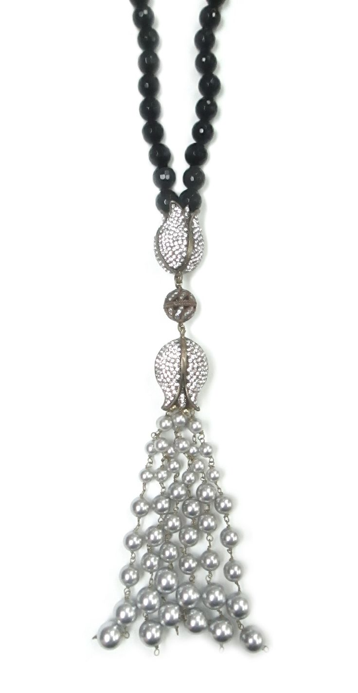 Sadivas Jewels, Insane Love Collection, Long Neckalces, Affordable Luxury Jewellery, Semi-Precious Necklaces, Statement Necklaces, Pearls, Tassel Necklace