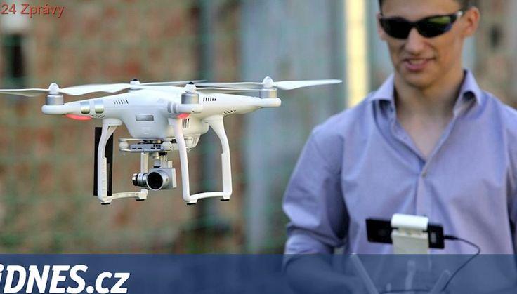 Strážníkům v Plzni mohou s neukázněnými řidiči pomoci hlídací drony