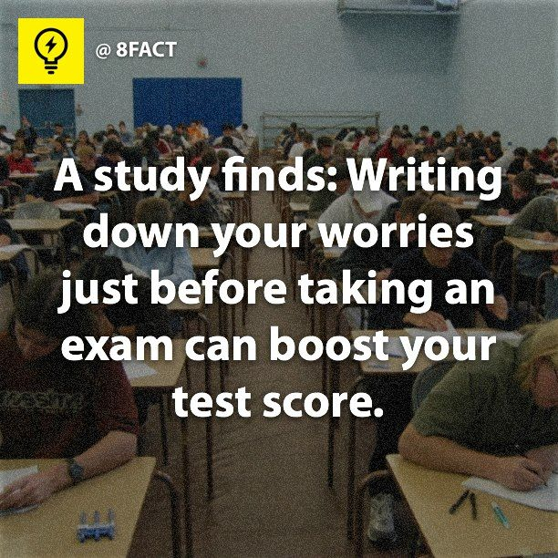 Does testing give you the real experiance of writing?