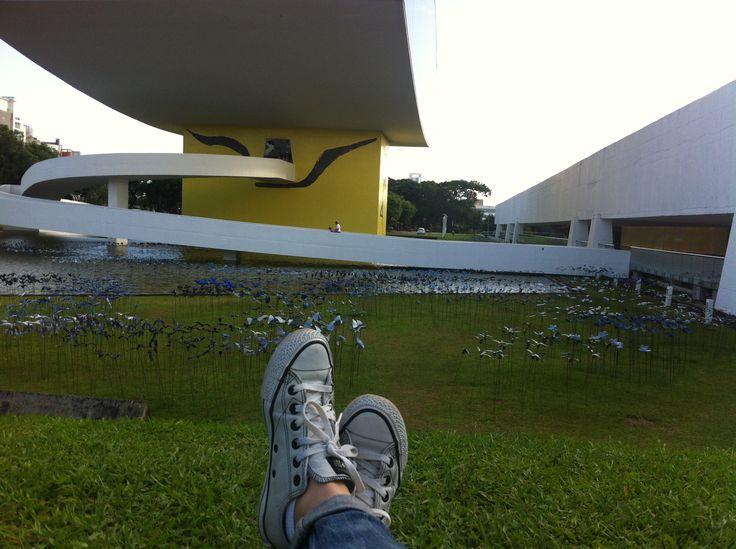 Curitiba-PR Brasil - Museu Oscar Niemeyer