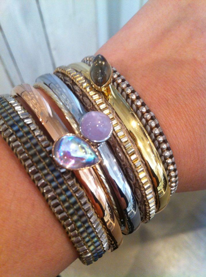 We love #melano #barongbarong #bracelets #jewelry #melanotwisted #gold #silver #rosegold