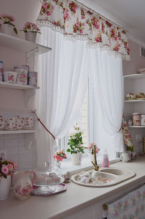 Новости Shabby Chic Pinterest Kitchen Curtains And