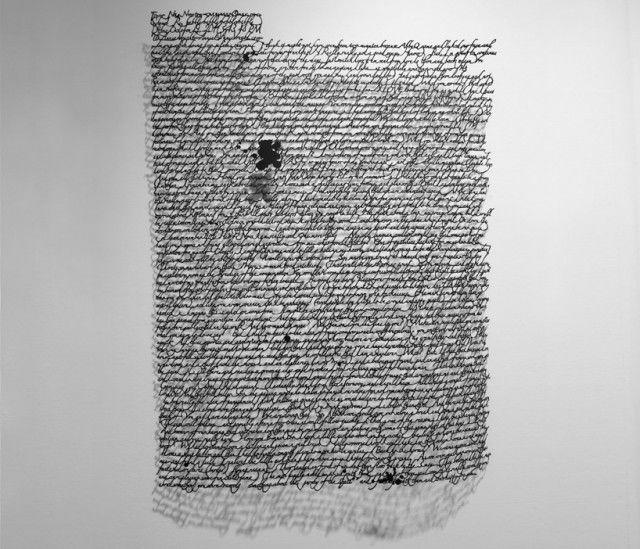 Annie Vought's Paper Cut Letters