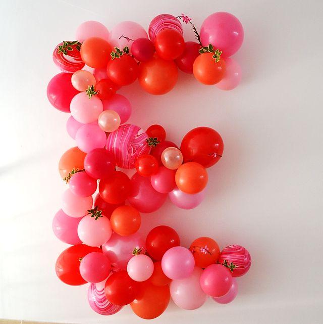 Voici comment préparer une lettre décorée de ballons pour égayer toutes vos…