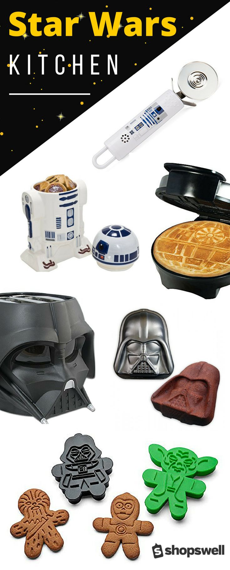 Essential kitchen products for the Star Wars fanatic.