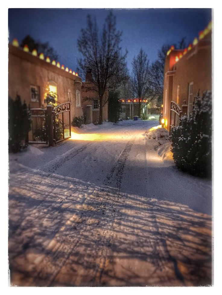 398 Best Images About Christmas In New Mexico On Pinterest Santa Fe Nm Adobe Homes And Daily
