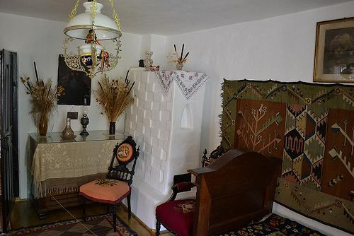 Memorial House of Alexandru Vlahuţă (Neamt) - Room Work source http://instant-trips.blogspot.ro/2012/08/casa-memoriala-alexandru-vlah