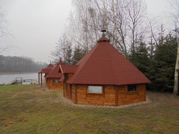 Nowa mini Wioska SPA na Mazurach - Camping Wejsunek.