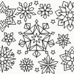 Snowflake Coloring Pages Printable Az Coloring Pages regarding Printable Snowflake Coloring Pages for Provide Residence