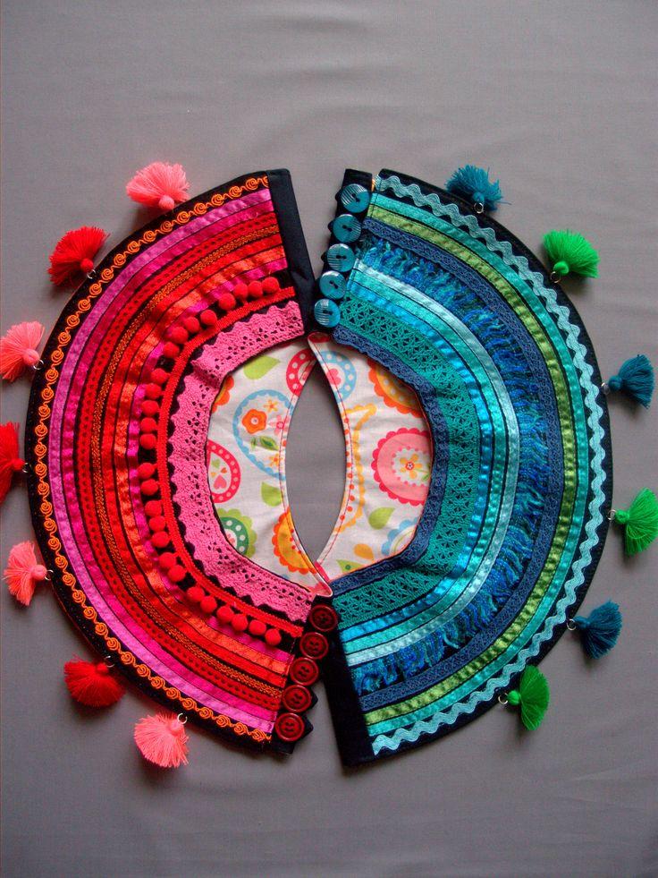 Ethnic jewelry by Baboshka,$150 each one