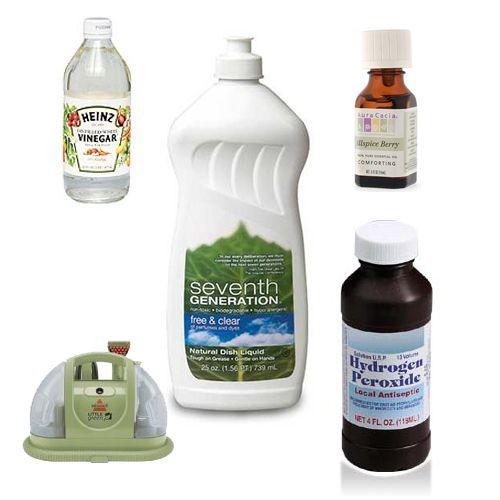 Natural Homemade Carpet Shampoo