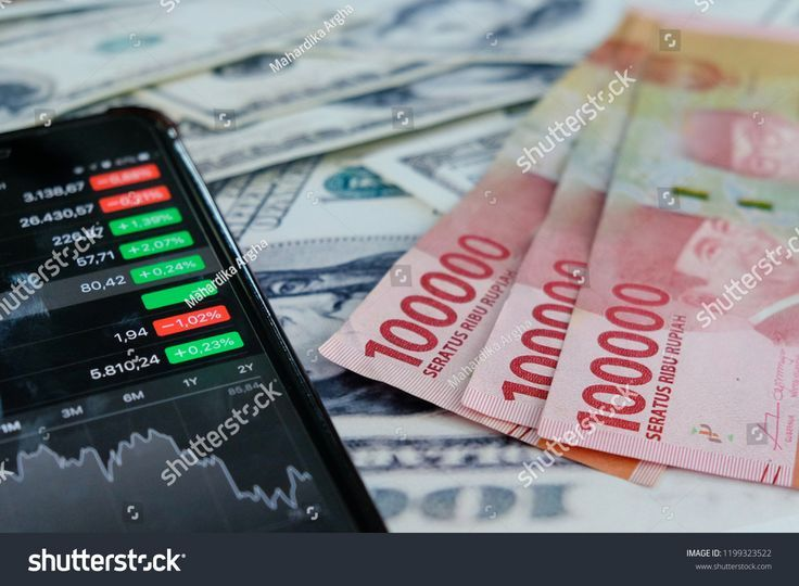 Rupiah Indonesia Currency And Stock