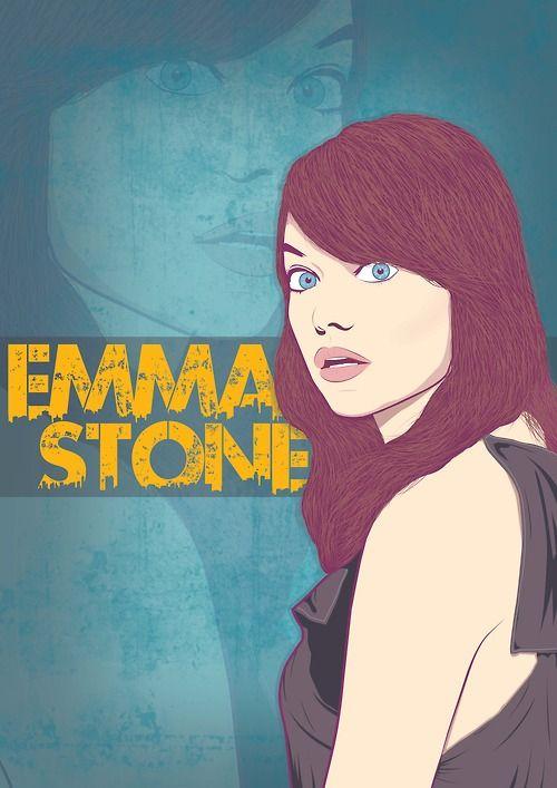 Emma Stone Illustration