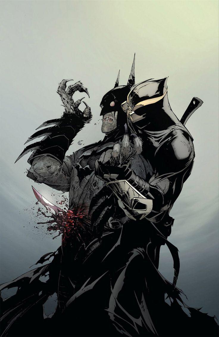 Batman was ambushed by the Court of Owls (Talon) by jmarshmallow Follow The Best Comics Artwork Blog on Tumblr