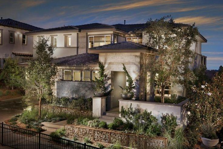 Gabionenzaun Ideen - Toller Akzent für eine moderne Villa