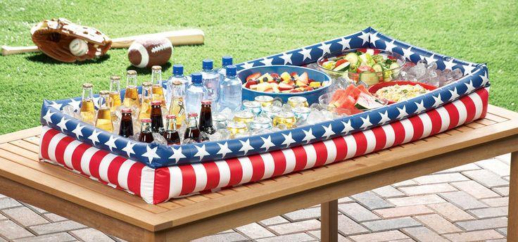 4th of july backyard decorations