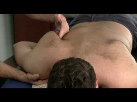 Samuel Blechman Teaches Frozen Shoulder Syndrome Massage Using Oakworks Massage Equipment - YouTube