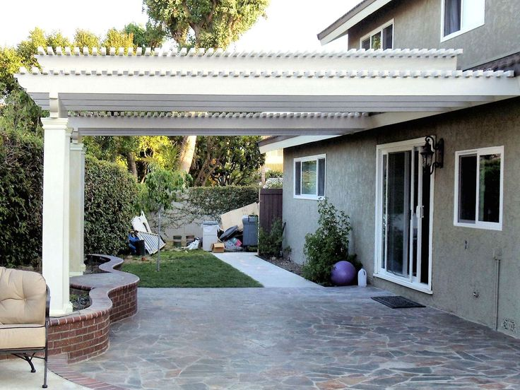 Alumawood Patio Cover By Superior Awning   Southern California