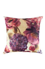 PRINTED DIGITAL FLORAL STITCH 50X50CM SCATTER CUSHION