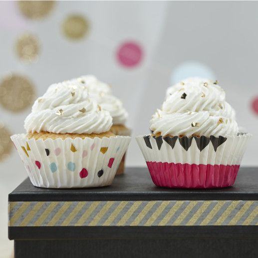 Cupcake Foermchen – Confetti Party Serie