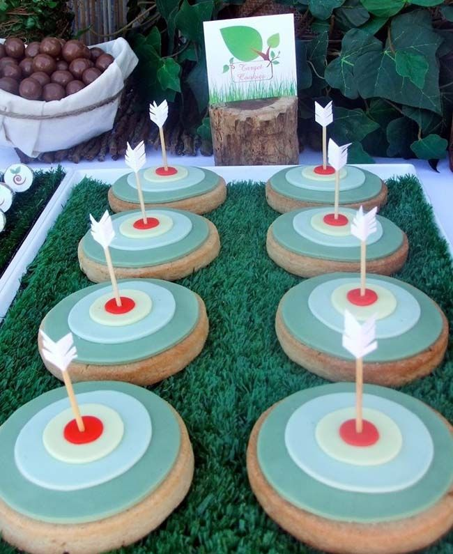 Robin Hood Inspired Cookies
