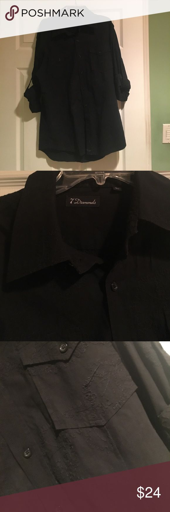 Shirt by 7 Diamonds Shirt barely used in a very good condition 7 Diamonds Shirts Casual Button Down Shirts