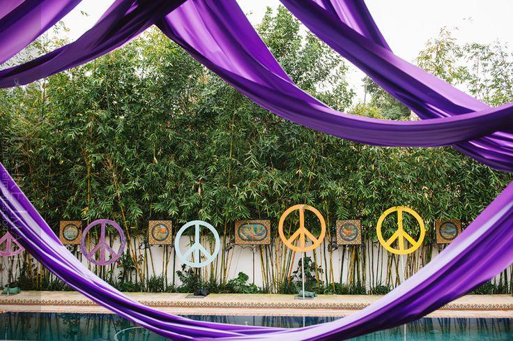 60s Hippie themed birthday party | Pasadena party photographer