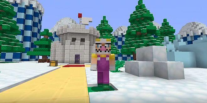 El pack de Super Mario Bros. desembarcó para Minecraft http://j.mp/1NAzBVG    #Minecraft, #Nintendo, #Noticias, #SuperMarioBros, #Tecnología, #Videojuegos