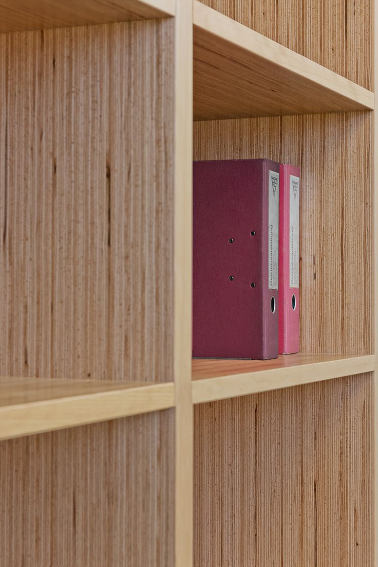 Furniture Made Of Baubuche Panel Laminated Veneer Lumber