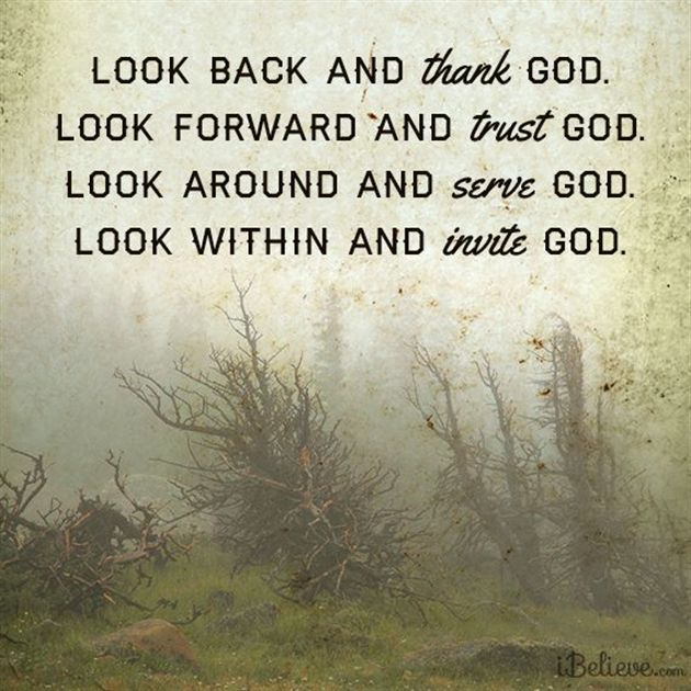 Look Back and Thank God #inspiration #thankfulness #God