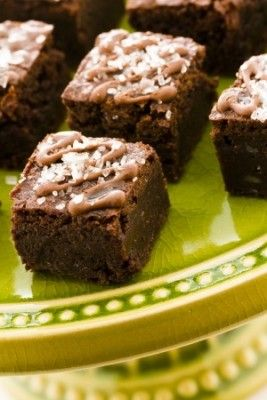 Mini Brownies - Receitas de Mãe