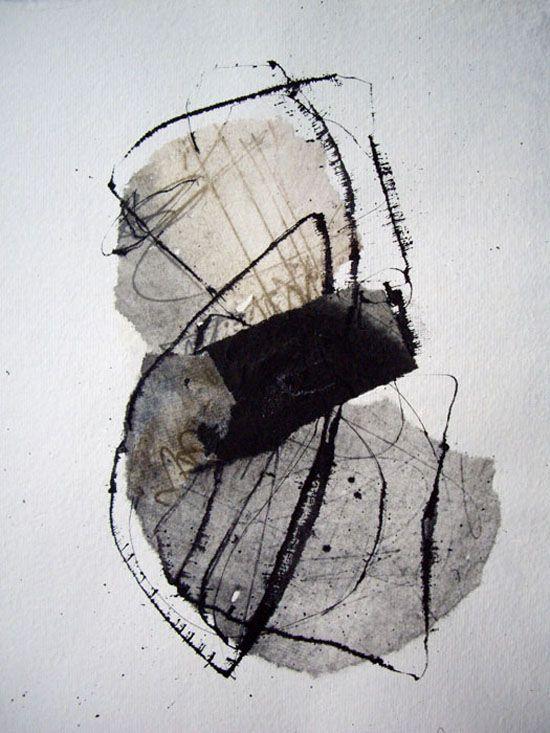 Kitty Sabatier. #Art #Grey #Abstract
