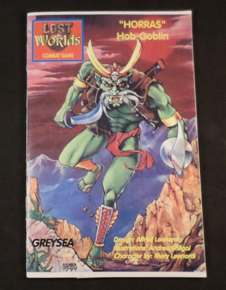 Lost Worlds Fantasy Combat Book Game Horras Hob-Goblin GSE-5019 (C6B5) #GREYSEA