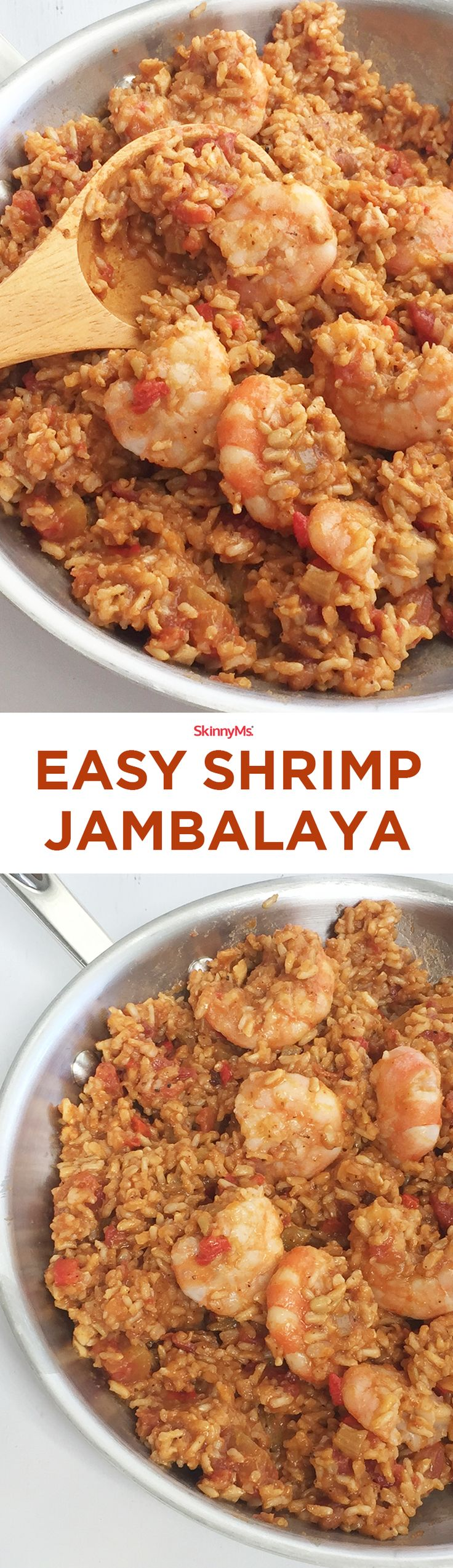 This Easy Shrimp Jambalaya dish can be served in any season for any meal and tastes great for any occasion!