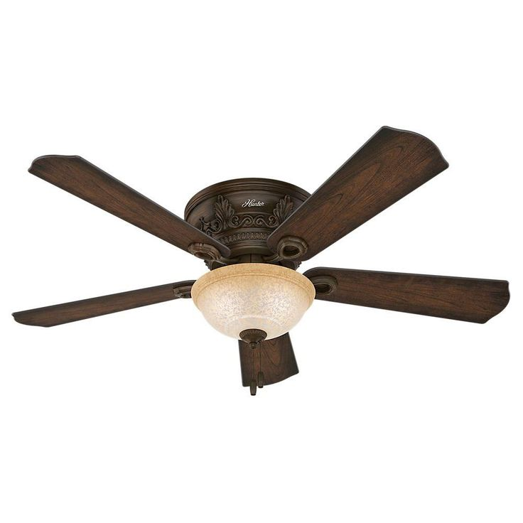 Indoor Northern Sienna Bronze Ceiling Fan With Light Kit 53221