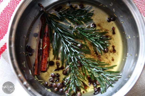the smell of Christmas in a pot