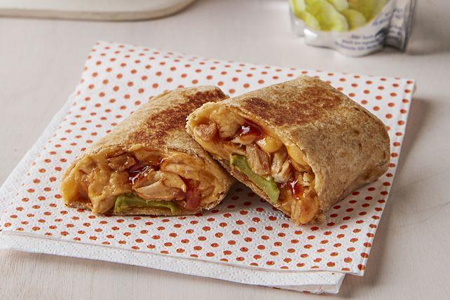 Mini-burritos au poulet barbecue Image 1
