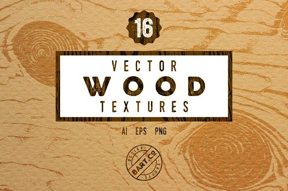 16 Vintage Wood textures by BART.Co Design on @creativemarket
