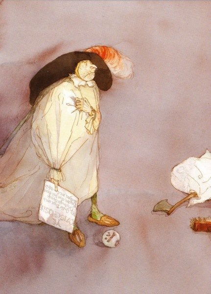 Lisbeth Zwerger illustrates The Canterville Ghost
