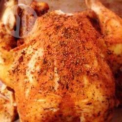 Photo de recette : Poulet entier cuit à la mijoteuse