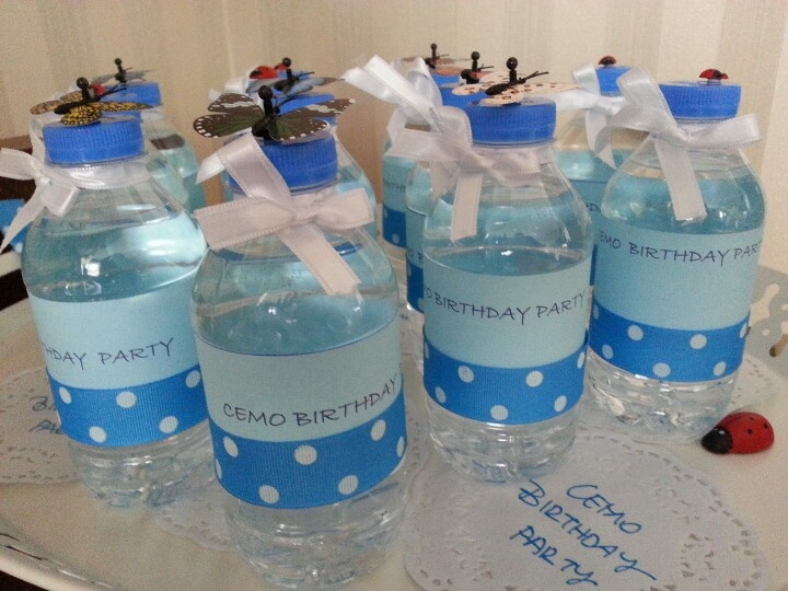 water bottles @cemo b'day ♥★♥★