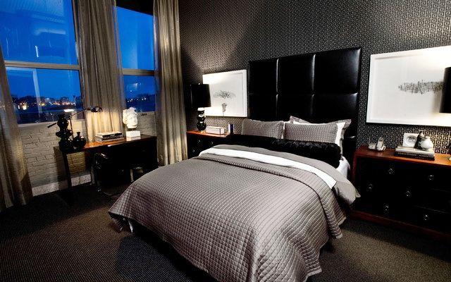 best 25 men 39 s bedroom design ideas on pinterest man 39 s. Black Bedroom Furniture Sets. Home Design Ideas