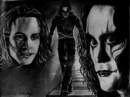Brandon lee in the crow flim